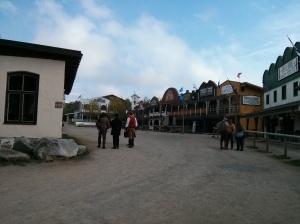 Westernstadt am Morgen